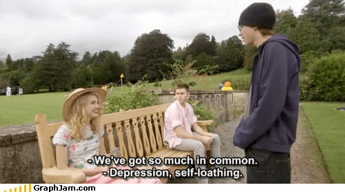 depression hell self-loathing weird kid - 4353863168