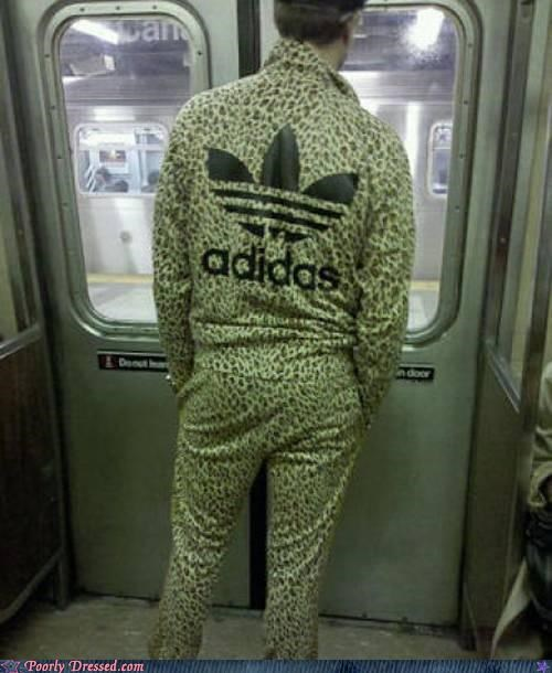 adidas awesome cheetah Subway