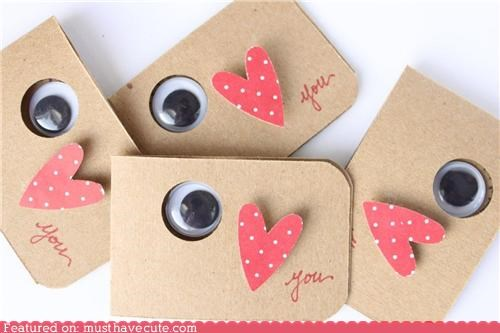 cards eye heart stationary valentine - 4355143424