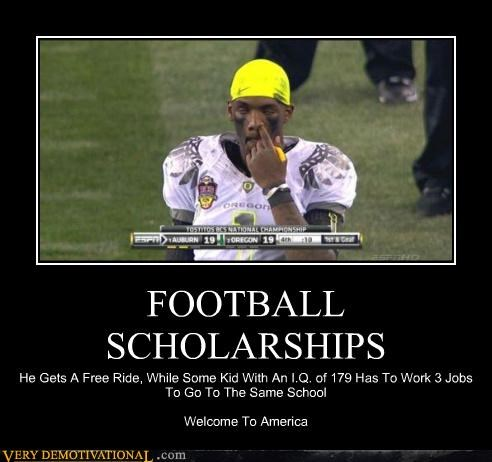 FOOTBALL SCHOLARSHIPS