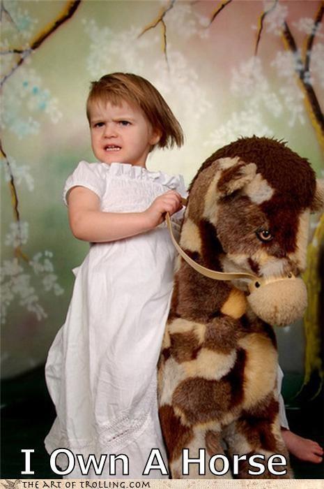 epic horse IRL kids trollface - 4355587840