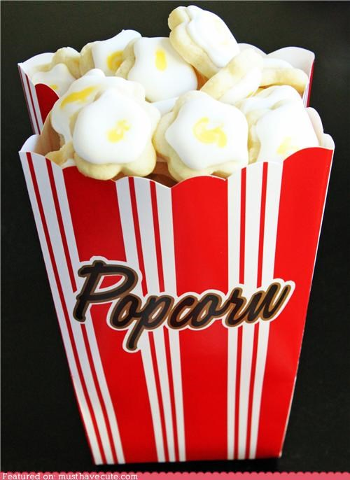 box cookies epicute icing Popcorn - 4356125952