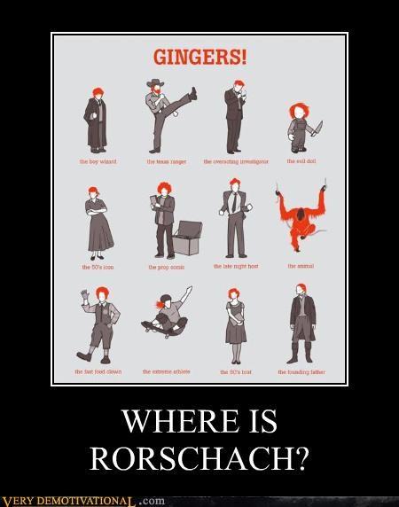 ginger poster rorschach - 4356212992