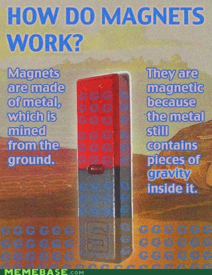 Gravity,ground,magnets,troll science