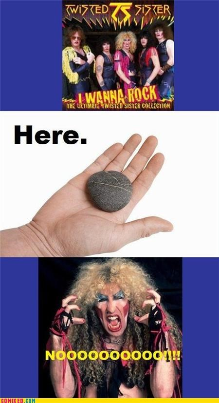 lol metal Music puns rock Songs Twisted Sister - 4356571648