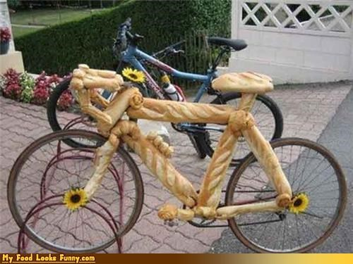 baguette bike bread - 4357591040