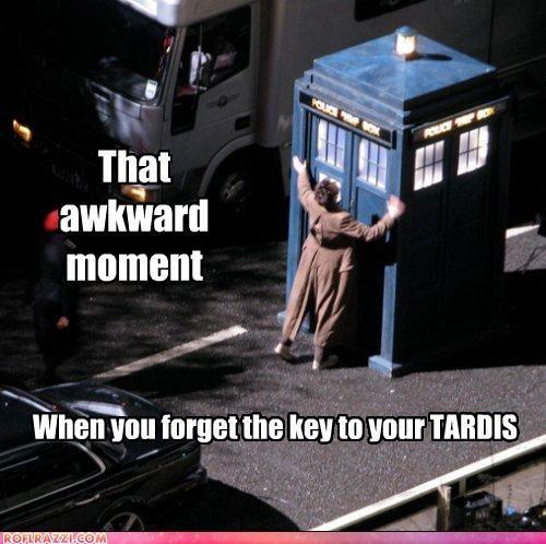 David Tennant doctor who funny Hall of Fame sci fi tardis - 4358092544