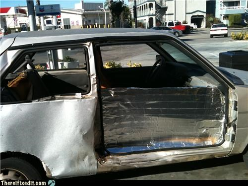 cars,dual use,duct tape,wtf