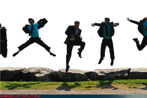 crazy groom,fashion is my passion,funny groomsmen picture,funny wedding jumping picture,funny wedding photos,groom,Groomsmen,groomsmen jumping,jumping picture,surprise,wedding party,white boys can jump,white men can jump