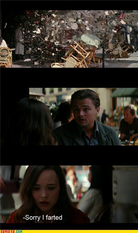 deadly,destruction,ellen page,farts,feminism,From the Movies,Inception,jk,leonardo dicaprio