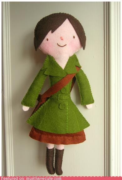 custom doll felt handmade Plush portrait - 4359065088