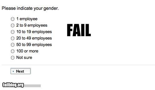 employees failboat gender g rated numbers online survey - 4359634688