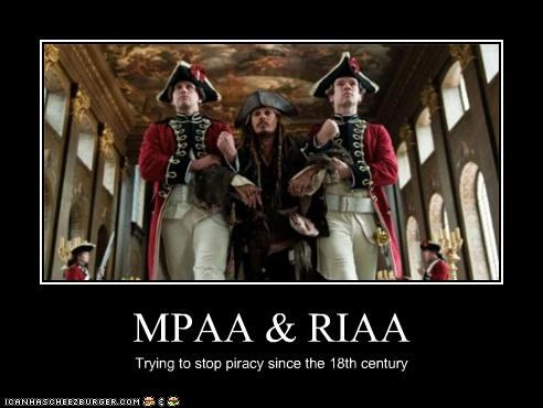 MPAA & RIAA Trying to stop piracy since the 18th century