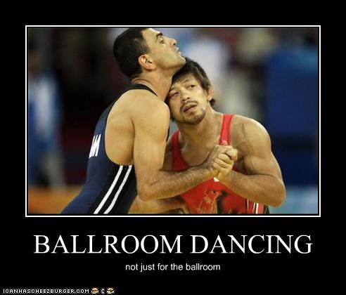 BALLROOM DANCING not just for the ballroom