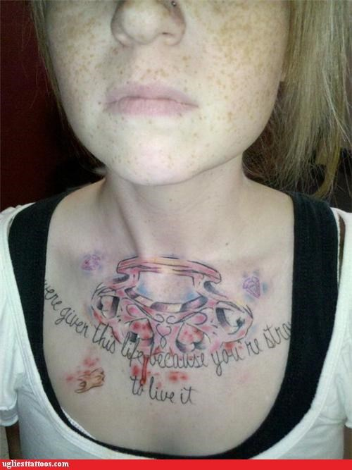 brass knuckles rage wtf tattoos - 4360598528