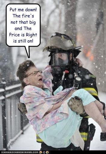 carry firefigher Firefly old lady rescue snow the price is right ungrateful - 4360662016