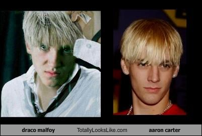 aaron carter,draco malfoy,Harry Potter,tom felton