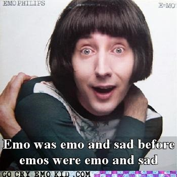comedian,emo phillips,name,weird kid