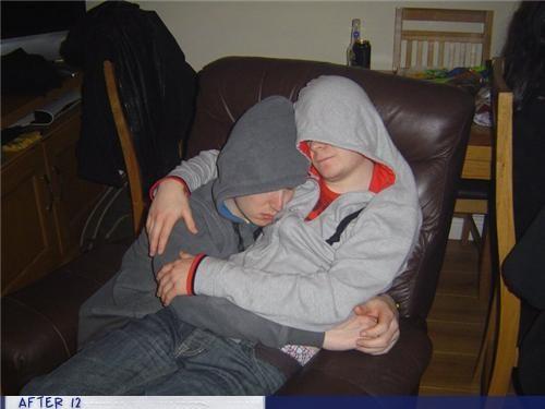 bro,hoodie,hugs,snuggle