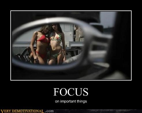 FOCUS on important things
