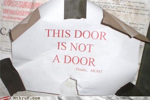 door management sign - 4363027712