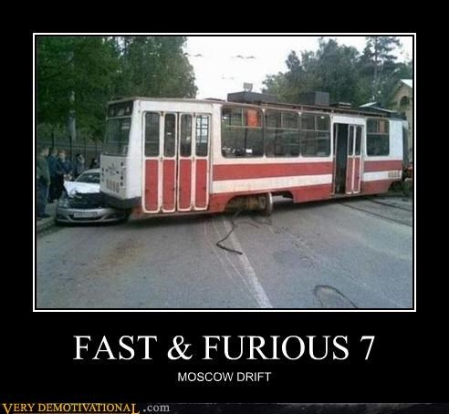 drift FAIL Fast and Furious trains whoops yikes