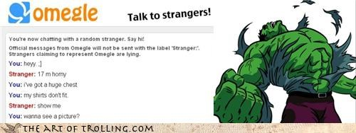 hulk,Omegle,sexychat