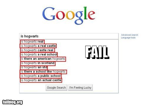 Autocomplete Me books failboat google g rated Harry Potter Hogwarts magic movies real life school search - 4364208128