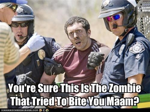 arrest,attack,bite,police,zombie