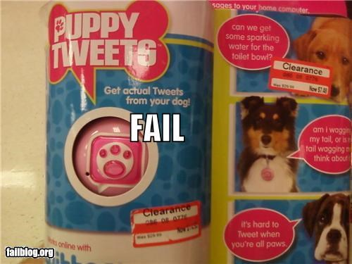 failboat,g rated,pets,products,thank you interents,thats-silly,twitter