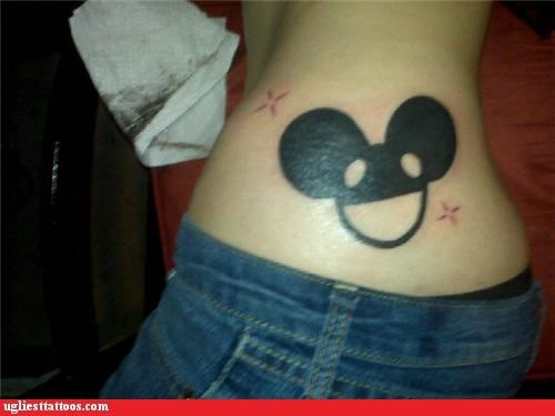 Deadmau5 logos tattoos