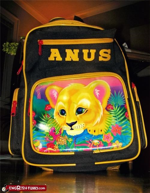 backpack,engrish,FAIL,name