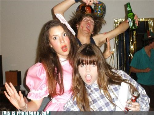 awesome beer Party photobomb - 4364992768