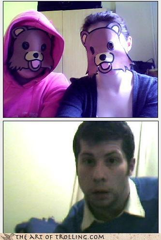 mask,pedobear,webcam