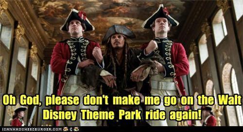 actor celeb disney funny Johnny Depp Pirates of the Caribbean - 4365490944
