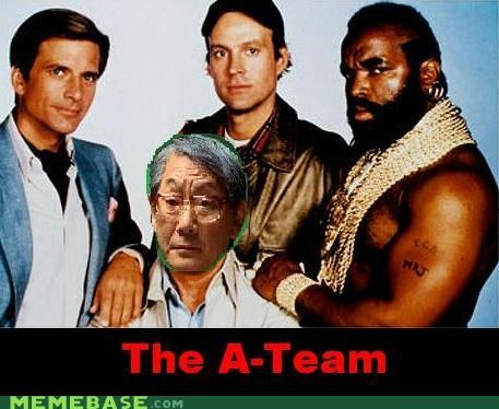 A Team BA Baracas colonel hannibal smith high expectations asian dad Murdock the face - 4365572608