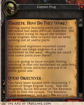 how do they work ICP magnets quest world of warcraft - 4366049024
