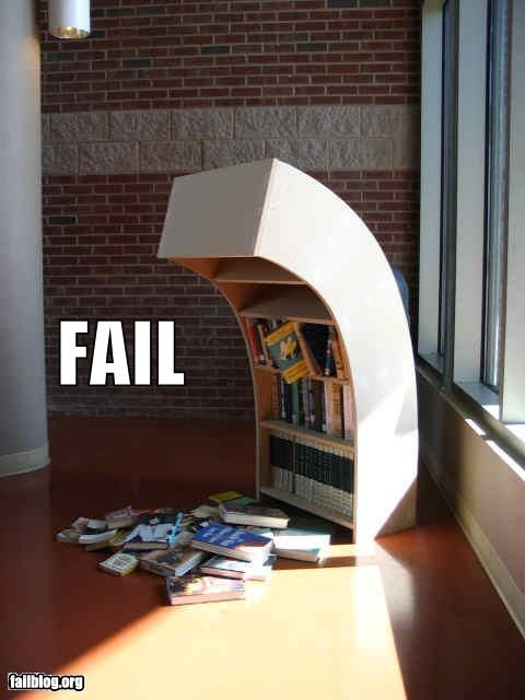 Bookcase FAIL
