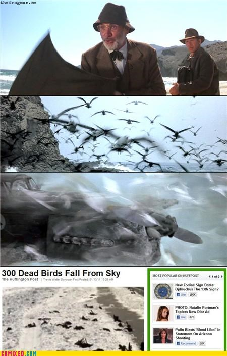 apocalypse birds From the Movies Indiana Jones lol sean connery The Last Crusade - 4366158080