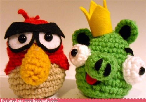 Amigurumi angry birds crochet Plush - 4366182144