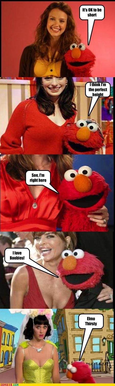 boobs creepy elmo good logic katy perry Sesame Street TV - 4366673152