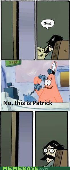 Memes patrick SpongeBob SquarePants wrong number - 4366789376