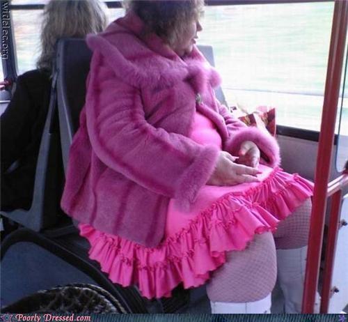 coat,fur,pink,tutu