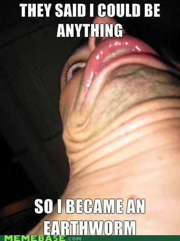 derp earthworm jim eww Memes - 4367330816