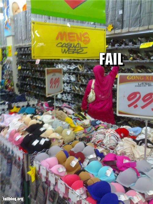 bras clothing failboat g rated mens signs store - 4367429376