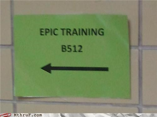 epic,note,signs,training