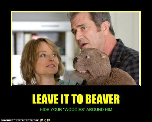 "LEAVE IT TO BEAVER HIDE YOUR ""WOODIES"" AROUND HIM"