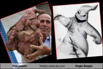 food gross monster oogie boogie potato the nightmare before christmas - 4367917312