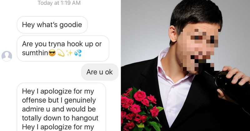 'Nice Guy' Freaks Out After Girl Rejects His Request For Sex