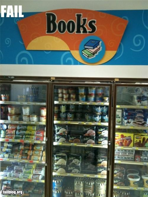 books failboat g rated grocery store ice cream signs - 4368152576